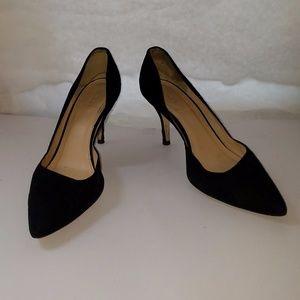 D'orsay Black heels J Crew 6.5